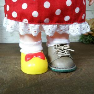 ソランちゃんの靴、試作出来たよ。