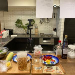 9月のオンライン料理教室初日!