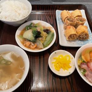 春巻定食と中華ランチ@民生東加古川店