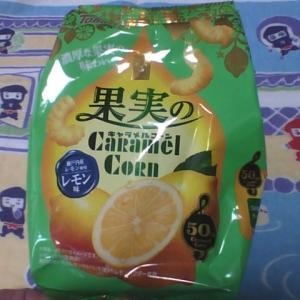 最終メンテナンスを!【果実のキャラメルコーン レモン味】