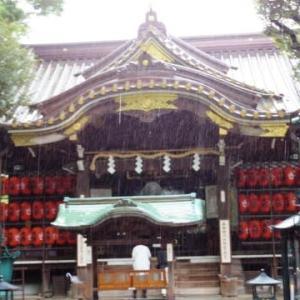 豊川稲荷東京別院、日枝神社、神田明神