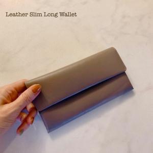 【オチました】ミニマルで大人な長財布
