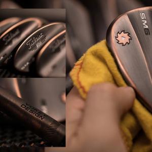 カッコイイ銅メッキのボーケイ Titleist Vokey SM6 Brushed Copper Wedge
