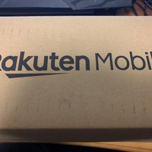 Rakuten  Pocket WiFiを契約してみた