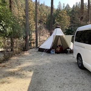 いつもの場所でキャンプ その1