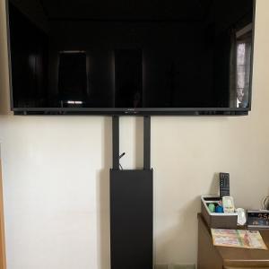 寝室にテレビを導入