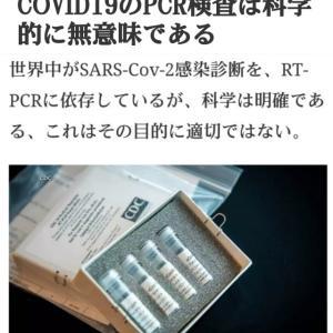 PCR検査は科学的に無意味である!新型コロナ【COVID19検査詐欺】テレビ新聞の感染報道もDSの大嘘テロ!意図的に感染者に出来る!コロナ死者は他の病気の死者!開発中のワクチンもインチキ!目覚めよ人類