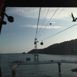 韓国釜山に旅行してます