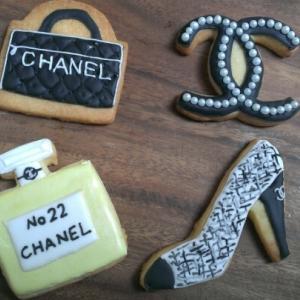 CHANEL?アイシングクッキー