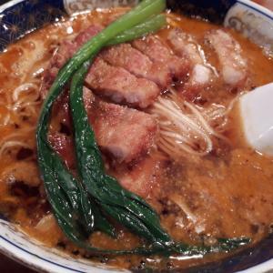 銀座の老舗の美味しい担々麺!「支那麺 はしご 本店」(銀座/ラーメン)
