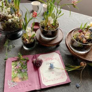 【カルトナージュ作品】素敵なお花と証書カバ―☆皆さんに喜んでもらえるのが嬉しい♪