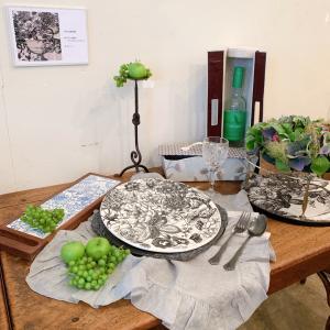 【展示会作品】布箱とタイル展 作品レポ2 テーブルコーディネート作品