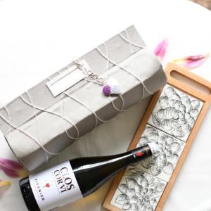【カルトナージュ作品】 ワインバッグ コラボ商品としてイベント販売します。