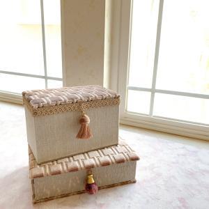 【カルトナージュ作品】復活!お財布ベッド作りました。