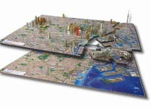 層になってるパズル、「4D CITY SCAPE TIME PUZZLE 東京」です。