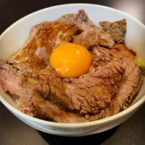 ジャック特製 ローストビーフ丼 レシピ