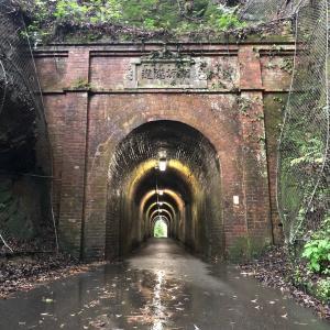 大正時代に建造されたという100年経つトンネルを見てきました