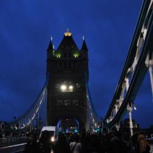 201912.10「イギリス旅行   ロンドン散策 タワーブリッジ」