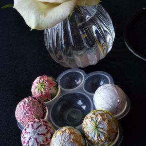 桜-ミニ手毬-