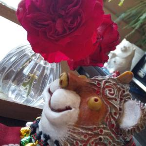 薔薇と百合