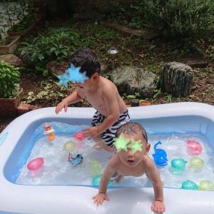 プール開き。