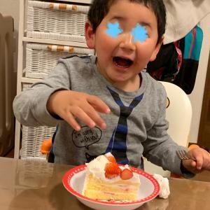 4歳の誕生日。