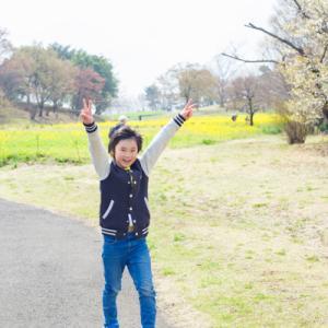 お花見、昭和記念公園。