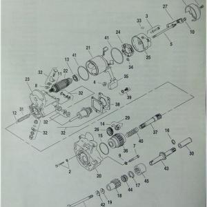 FXDL セルが空回り ワンウェイクラッチ(スタータークラッチ)交換