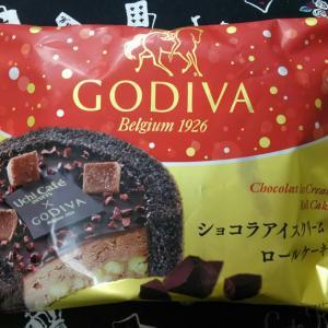 ローソン『ショコラアイスクリーム ロールケーキ』