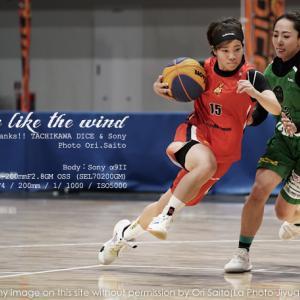 sony α9II でバスケットボール撮影 高橋香澄選手(立川ダイス) sony SEL70200GM 実写