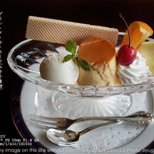 ヨコハマ喫茶さんぽ『山手十番館』のプリン・ア・ラ・モード sony α7RIV + SEL55F18Z 作例