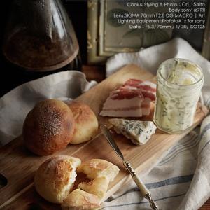 マクロレンズと料理写真:パンとコーヒーの朝 SIGMA 70mm F2.8 DG MACRO Art +profotoA1x #SIGMA #profoto