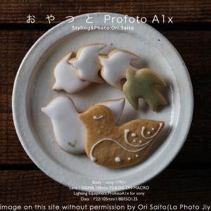おやつとProfoto。松屋銀座ルスルス、鳥のかたちクッキー @rusurusu_  #Profoto  #SIGMA #スイーツ 作例