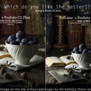 Profoto C1 PlusでAPS-C vs フルサイズ。sony VLOGCAM ZV-E10 を今日発売 #VLOGCAM #ZVE10 #Profoto #SIGMA