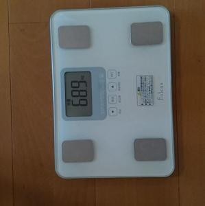 68.9キロ!