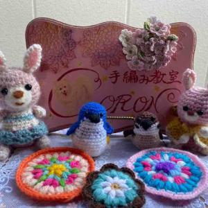 6月のかぎ針編みレッスン 紫陽花の季節に