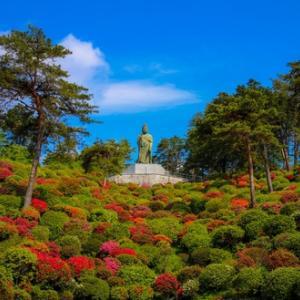 つつじの名所、青梅市にある塩船観音寺はまさに絶景!