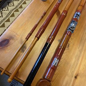 伝統工芸品 江戸和竿のメンテナンス
