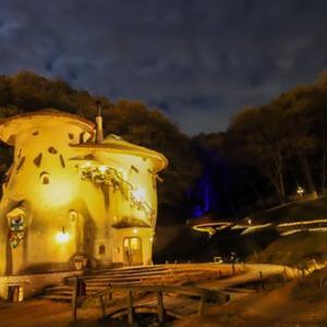 そこはまさに北欧フィンランド!埼玉県飯能市にあるトーベヤンソンあけぼの公園のライトアップに行ってきた!