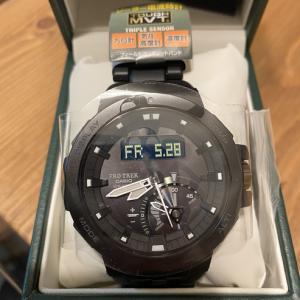 アウトドアに最適な腕時計!プロトレック PRW-7000購入