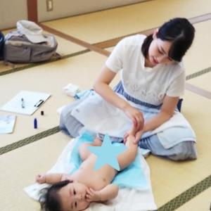 子どもがお風呂上がりの保湿を嫌がらなくなりました♪川崎市高津区・宮前区ベビーマッサージ教室
