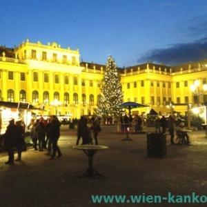 シェーンブルン宮殿のクリスマス市(2019年)