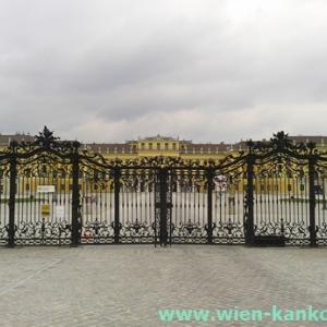 この時期のシェーンブルン宮殿