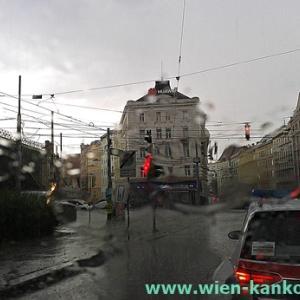 昨日の豪雨