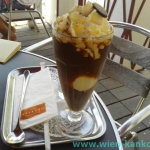 OberlaaのWiener Eiskaffee