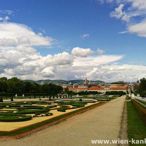 ベルヴェデーレ宮殿 美しい眺め