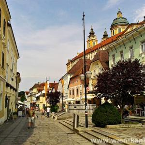 メルク旧市街とメルク修道院