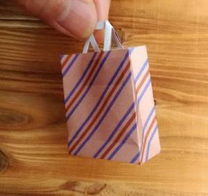 ミニ紙バッグの作り方