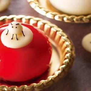 JAL機内食で採用!レアチーズケーキ「ミティーク」仙台【艶感デザート】ジュエル ルビー&パール