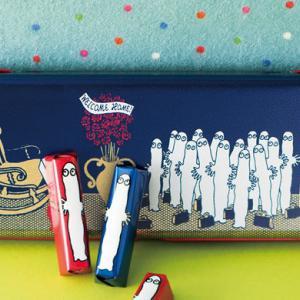 ムーミン×メリーチョコレート【バレンタイン】オリジナル缶やポーチ、ブック型BOXに入った詰め合わせ